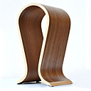 cheap Party Headpieces-Hot Sale Fashionable Wooden U-Shaped Headphone Display Stand Headphones Holder