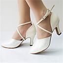 baratos Sapatos de Dança Moderna-Mulheres Sapatos de Dança Moderna Glitter / Courino Sandália / Salto Lantejoulas / Gliter com Brilho / Presilha Salto Personalizado Personalizável Sapatos de Dança Branco / Púrpura / Interior