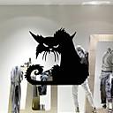 preiswerte Wand-Sticker-Tiere Menschen Stillleben Romantik Mode Formen Retro Feiertage Cartoon Design Freizeit Fantasie Wand-Sticker 3D Wand Sticker Dekorative