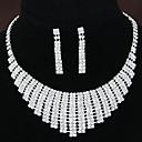 ieftine Cercei-Pentru femei Ștras Set bijuterii Seturi de bijuterii - Diamante Artificiale