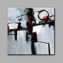 baratos Pinturas a Óleo-Pintura a Óleo Pintados à mão - Abstrato Modern Tela de pintura