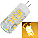 abordables Luces LED de 2 Pin-1pc 5.5 W 500-600 lm G4 Luces LED de Doble Pin 51 Cuentas LED SMD 2835 Decorativa Blanco Cálido / Blanco Fresco 220-240 V / 1 pieza / Cañas