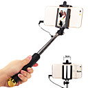 cheap Smartphone Tripods-Selfie Stick Wired Extendable Max Length 110cm Universal Android iOS Apple Samsung Galaxy Huawei