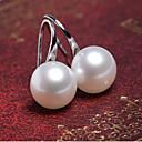 preiswerte Modische Ohrringe-Damen Perle Ohrstecker - Perle, Künstliche Perle Silber / Golden Für Party / Alltag / Normal