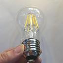 abordables Bombillas LED-KWB 1pc 750 lm E26/E27 Bombillas de Filamento LED A60(A19) 8 leds COB Regulable Impermeable Decorativa Blanco Cálido AC 220-240V