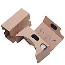 billige VR-briller-DIY papp virtuell virkelighet 3D-briller vr tookit (oppgradert versjon 34mm linse)