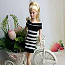 preiswerte Zubehör für Puppen-Freizeit Kleider Für Barbie-Puppe Wollen Kleid Für Mädchen Puppe Spielzeug