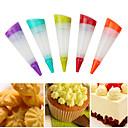 hesapli Kek Kalıpları-Bakeware araçları Silikon Çevre-dostu Kek / Cupcake / Tart Dekorasyon Aracı