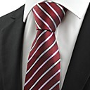 cheap Party Headpieces-Men's Party Work Basic Cotton Rayon Polyester Necktie - Striped