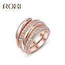 ieftine Inele la Modă-Pentru femei Inel de declarație - Aliaj Modă O Mărime Roz auriu Pentru Nuntă / Birou și carieră