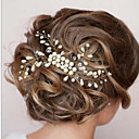 cheap Party Headpieces-Pearl Hair Combs with 1 Wedding / Special Occasion Headpiece