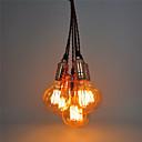 baratos Luzes Pingente-CXYlight 6-luz Luzes Pingente Luz Ambiente - Estilo Mini, 110-120V / 220-240V Lâmpada Não Incluída / 10-15㎡ / E26 / E27