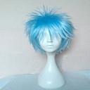 cheap Costume Wigs-Synthetic Wig / Cosplay & Costume Wigs Curly Synthetic Hair Blue Wig Women's