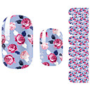 cheap Full Nail Stickers-1 pcs Flower / Cartoon / Fashion 3D Nail Stickers Lovely Daily