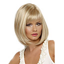 cheap Synthetic Capless Wigs-women short cosplay curly synthetic hair wig blonde
