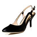 halpa Naisten korkokengät-Naisten Kengät Tekonahka Kesä Syksy Slingback Stilettikorko varten Puku Juhlat Musta Fuksia Vihreä Manteli