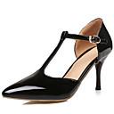 olcso Női magassarkú cipők-Női Cipő Lakkbőr / Bőrutánzat Tavasz / Nyár T-pántos / D'Orsay és kétrészes Tűsarok Piros / Rózsaszín / Aranyozott / Party és Estélyi / Ruha / Party és Estélyi