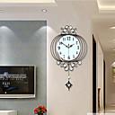 رخيصةأون ساعات جدران عصرية-الحديثة / المعاصرة زجاج / معدن داخلي,AA ساعة الحائط