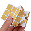 billige Rubiks kuber-Rubiks terning Shengshou Alien Spejlterning 3*3*3 Let Glidende Speedcube Magiske terninger Puslespil Terning Professionelt niveau