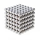 billige Dukkehuse-216 pcs 6mm Magnetiske puslespil Magnetiske kugler / Byggeklodser / Puslespil Cube Magnet Pige Børne / Voksne Gave