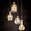 baratos Luzes de LED de Parede-4-luz Luzes Pingente Luz Superior Metal Vidro Estilo Mini 110-120V / 220-240V Lâmpada Não Incluída / E26 / E27