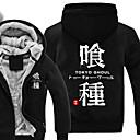 tanie TV Box-Zainspirowany przez Tokyo Ghoul Ken Kaneki Anime Kostiumy cosplay Bluzy Cosplay Nadruk Długi rękaw Top Na Męskie / Damskie