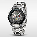 cheap Dress Watches-WEIDE Men's Wrist Watch Water Resistant / Water Proof Stainless Steel Band Charm Silver / Two Years / Maxell626+2032