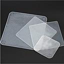 preiswerte Duscharmaturen-Küchengeräte Silikon Anti-verschüttet Lebensmittelabdeckungen Für Obst / Für Gemüse 4pcs