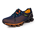 cheap Men's Athletic Shoes-Men's Tulle Spring / Fall Comfort Athletic Shoes Running Shoes Dark Blue / Royal Blue