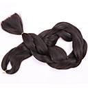 baratos Tranças de Cabelo-Cabelo para Trançar Tranças de caixa Tranças Jumbo Cabelo Sintético 1 Peça Tranças de cabelo Muito longo
