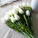 cheap Artificial Flower-Artificial Flowers 8 Branch Wedding Flowers Tulips Tabletop Flower