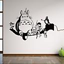 hesapli Duvar Çıkartmaları-Hayvanlar İnsanlar Natürmort Şekiller Karton Fantezi Botanik Duvar Etiketler Hayvan Duvar Çıkartmaları Dekoratif Duvar Çıkartmaları, Vinil