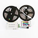 preiswerte Laptop Kühler-10m Leuchtbänder RGB 600 LEDs 5050 SMD RGB Fernbedienungskontrolle / Schneidbar / Abblendbar 12 V / IP65 / Wasserfest / Für Fahrzeuge geeignet / Selbstklebend / Farbwechsel