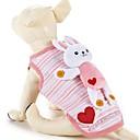 abordables Ropa para Perro-Perro Chaleco Ropa para Perro Caricatura Algodón Disfraz Para mascotas Mujer Casual/Diario