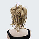 preiswerte Synthetische Perücken ohne Kappe-Mit Clip Pferdeschwanz Synthetische Haare Haarstück Haar-Verlängerung Natürlich gewellt
