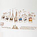 cheap Wall Stickers-Photo Stickers - Words & Quotes Wall Stickers Landscape / Still Life / Fashion Living Room / Bedroom / Dining Room / Removable