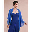 cheap Wedding Wraps-Sleeveless Chiffon Wedding / Party Evening Women's Wrap With Shawls