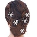 abordables Accesorios para el Cabello-Pasador Accesorios para el cabello Legierung Accesorios pelucas Mujer PC 1-5cm cm