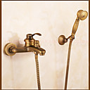 cheap Shower Faucets-Shower Faucet - Contemporary Antique Copper Centerset Ceramic Valve / Brass / Single Handle Two Holes