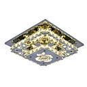 Χαμηλού Κόστους LED Λάμπες-Ecolight™ Κρεμαστά Φωτιστικά Ατμοσφαιρικός Φωτισμός - Κρυστάλλινο, LED, 90-240 V, Κίτρινο, Περιλαμβάνεται η πηγή φωτός LED / 5-10τμ
