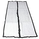 cheap Sheer Curtains-Door Panel Curtains Drapes Kitchen Solid Color 100% Polyester Hollow Out