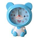 cheap Decorative Objects-Cute Shape Novelty Mute Plastic Alarm Clock (Random Color)