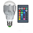 cheap LED Smart Bulbs-1pc 10 W 750 lm E26 / E27 LED Smart Bulbs 1 LED Beads High Power LED Remote-Controlled / Decorative / Color Gradient RGB 85-265 V / 1 pc / RoHS