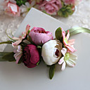 cheap Wedding Flowers-Wedding Flowers Bouquets Wrist Corsages Others Artificial Flower Wedding Party / Evening Material Lace Polyester Satin 0-20cm