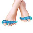 baratos Acessórios de Sapatos-2pçs Fitness, Corrida e Yoga Palmilhas e Calcanhadeiras Silicone Peito do Pé Verão Mulheres Azul