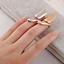 baratos Anéis-Mulheres Anel de dedo de unha Midi Ring - Prata Chapeada, Chapeado Dourado Personalizada, Europeu, Fashion 4 Prata / Dourado Para Diário Casual