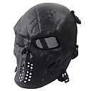 preiswerte Sicherheit-schwarz taktische Schutzmaske Schädel Maske Armee Fans leben cs Feld wesentlich