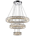 cheap Night Lights-Chandelier Ambient Light Electroplated Metal Crystal, LED 110-120V / 220-240V Warm White / Cold White LED Light Source Included / LED Integrated
