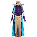 tanie Kostiumy anime-Zainspirowany przez JoJo's Bizarre Adventure Zeppeli Anime Kostiumy cosplay Garnitury cosplay Solidne kolory / Patchwork Top / Spodnie / Nakrycie głowy Na Męskie / Satyna