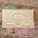 baratos Convites de Casamento-Tri-Dobrado Convites de casamento Cartões de convite Estilo Clássico Papel Pérola
